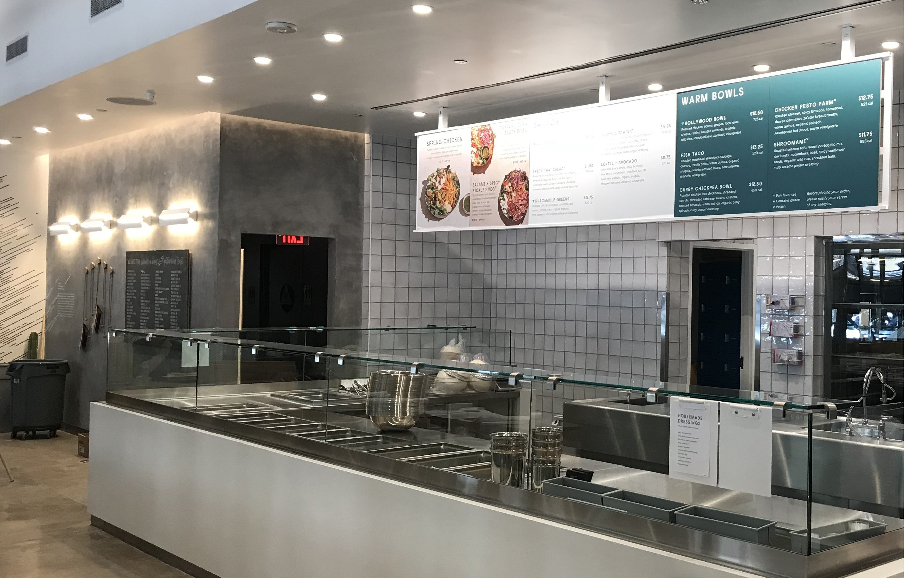 Sweetgreen Downtown Los Angeles Kitchen
